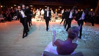 Ballerina Wedding: Surprise Groomsmen Dance