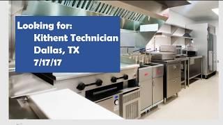 Looking for Kitchen Technician Dallas 071717