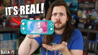 Ok, let's talk about this NEW Nintendo Switch Lite.