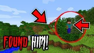 I FOUND HEROBRINE HIDING IN MY WORLD (Ps3/Xbox360/PS4/XboxOne/WiiU)