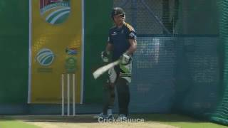 AB De Villiers Batting Technique HD - 360P