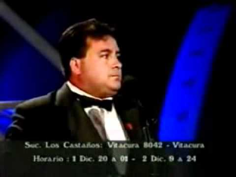 Dino Gordillo en Teleton 2000
