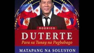 Rodrigo Duterte  ATIN ITO Campaign Song