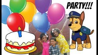 FAMILY FUN SOFT PLAY PARTY PAW PATROL CAKE | BIRTHDAY BOY ROMAN