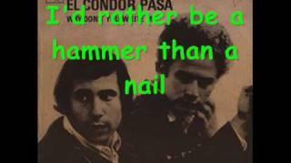El Condor Pasa, Simon & Garfunkel lyrics