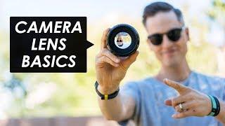 Camera Lenses Explained for Beginners