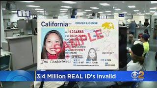 3.4M California Real IDs May Be Invalid