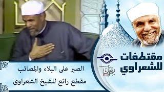الشيخ الشعراوي | الصبر على البلاء والمصائب مقطع رائع للشيخ الشعراوى