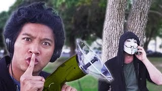 HACKER SPIED ON!! (Secret New Doomsday Date and Spy Gadget Gear)