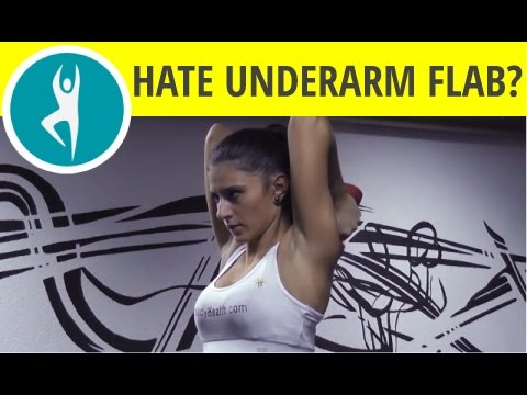 Underarm flab exercises: 5 quick fixes for anything that jiggles