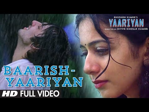 Baarish Yaariyan Full Video Song (Official) | Himansh Kohli, Rakul Preet