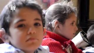 كاميرا نبأ ترصد جانب من نشاطات مركز لرعاية أطفال الصم و البكم في بلدة معربة بريف درعا