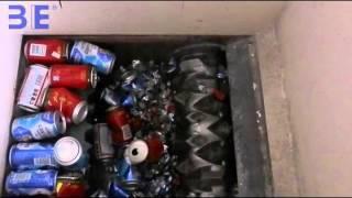 aluminum can shredding machine