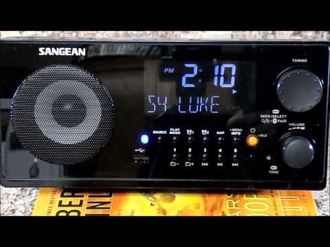 Review and Unboxing: Sangean WR-22BK AM/FM-RDS/Bluetooth/USB Table-Top Digital Tuning Receiver