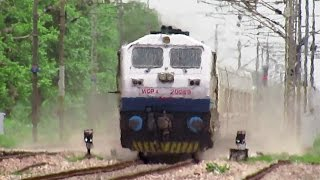 180 KM/HR TRIAL RUNS : Talgo Train surpassed Gatimaan Express Speed on IR's Fastest Rail Sector..!!