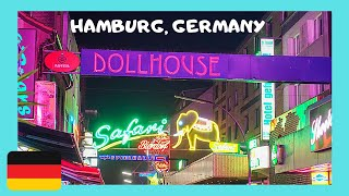 HAMBURG, the famous RED LIGHT DISTRICT, Germany