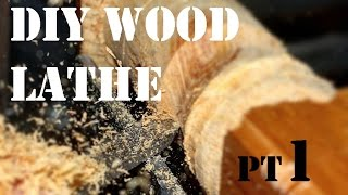 How to Make a Wood Lathe From Scratch - The Bed