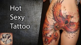 Hot Women, Tattoos For Women, The Female Tattoo, Hot Sexy Tattoo #22 - ART TATTOO