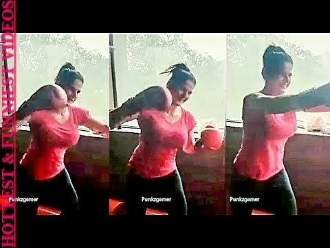 Xxx Mp4 Zareen Khan Fitness Training With Tight Outfit By Hottest Funniest Videos ❤ 3gp Sex