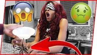 She FLIPPED OUT! What's In My Hand Challenge Goes VIOLENT! | #Mav3riqFam