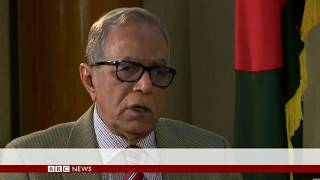 'We must protect Bangladesh's secularism' says President Hamid - BBC News