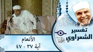 الشيخ الشعراوي | تفسير سورة الأنعام، (آية ٣٧-٤٧)