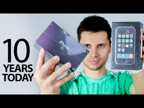 iPhone 3G Unboxing 10 Years Old Today