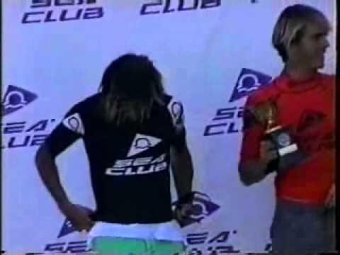 Sea Club Surf Praia Grande Ubatuba 1993 Premiação Pro Entrevista Dadá Figueiredo