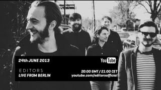 Editors - Live from Berlin