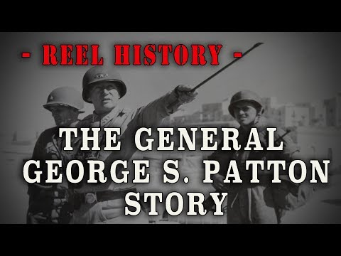The George S Patton Story Narrated by Ronald Reagan REEL History
