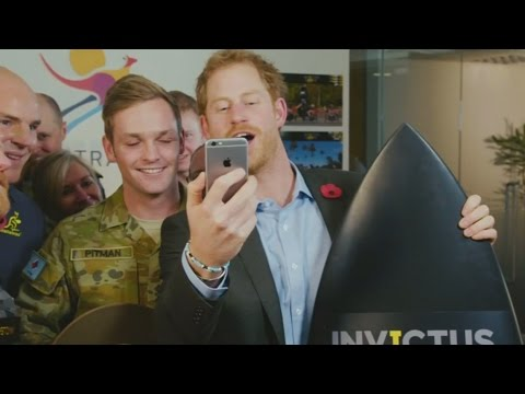 Xxx Mp4 Prince Harry Gets A Call From Kylie As He Announces The 2018 Invictus Games Location 3gp Sex