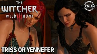 The Witcher 3: Wild Hunt - Triss or Yennefer (Bad Choice Romance Ending)