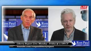 Julian Assange Speaks Out: The War On The Truth