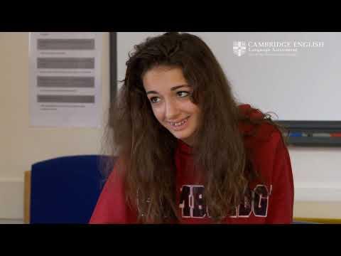 Cambridge English: Preliminary for Schools, Victoria and Chiara