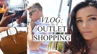 VLOG: OUTLET SHOPPING | Stephanie Ledda