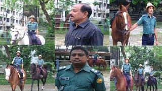 Bangladesh Police Horse Racing. বাংলাদেশ পুলিশের ঘোড়া দৌর। DMP । Rajarbag Police Lines। Sarda