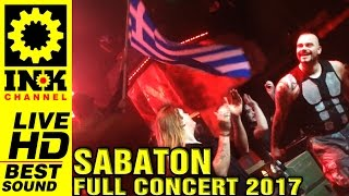SABATON The Last Tour 2017 - Full Concert in Greece