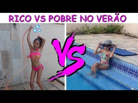 RICO VS POBRE NO VERÃO PLANETA DAS GÊMEAS