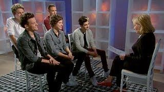 One Direction Makes Barbara Walters