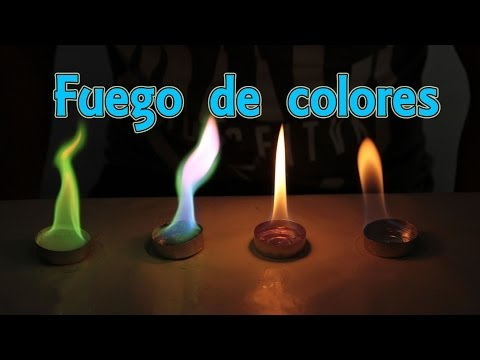How to make fire colors Home Experiments