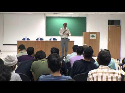 Dr.Rajeev Sangal's talk in IIIT-H before leaving to IIT-BHU, Part-6