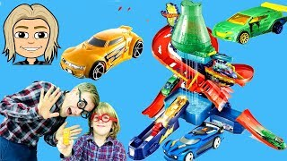 Color changers cars 2 colors - hot wheels color changers cars with Gertit and Uncle Emilo