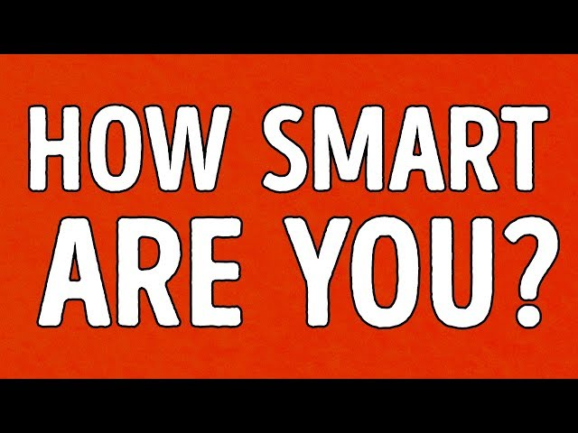 How Smart Are You For Your Age? (Quick Test)