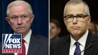 Report: McCabe authorized FBI probe of Jeff Sessions