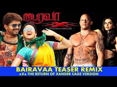 Xxx Mp4 Funny Bairavaa Aka Bhairava Teaser Remix Troll XXx The Return Of Xander Cage Version Vijay 3gp Sex