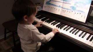 Yuto and the piano