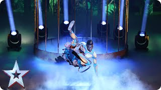 Dancer Bonetics is in bit of a bind | Semi-Final 2 | Britain's Got Talent 2015