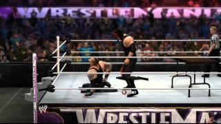 WWE 2K14 Kane vs The Underaker