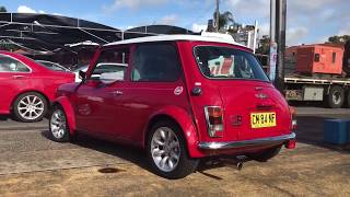 Rover Mini buyer Ty: Happy with 40th Anniversary Edition Recommends Edward Lees Sunrise Cars