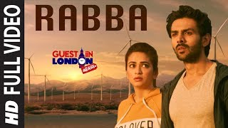 Rabba Meray Haal Da Mehram Tu Full Video Song | Guest iin London |  Kartik Aaryan, Kriti Kharbanda